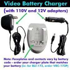 Jvc Bn-V107 And Bn-V114 Charger