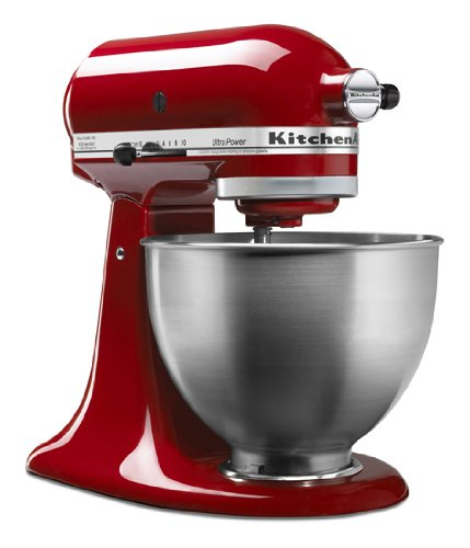 Kitchenaid Ultra Power® 4.5 Quart Tilt-head Stand Mixer Blender Red Ksm95er Big Discount