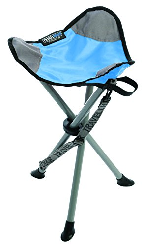 Travelchair Slacker Tripod Stool Light Blue Furniture