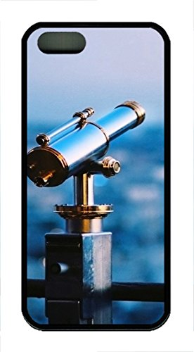 Iphone 5 5S Case Astronomical Telescope Tpu Custom Iphone 5 5S Case Cover Black