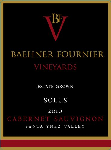 2010 Baehner Fournier Vineyards Estate Grown Solus Cabernet Sauvignon 750 Ml