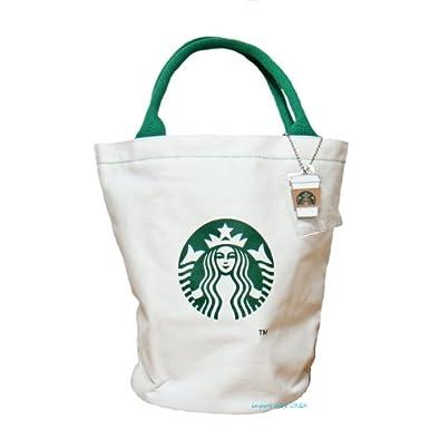 Starbucks logo tumbler cup tote bag canvas bag outlet (japan import)