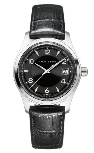 Hamilton H18451735 - Reloj de pulsera hombre, piel, color negro
