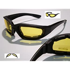 Amazon.com: Slim Jim Yellow Lens Tint Night Driving Sunglasses