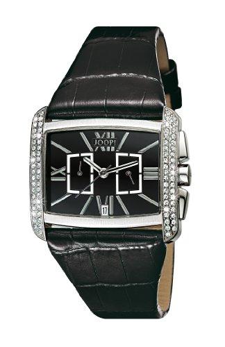 Joop ! ROMANO CHRONO JP100042001 - Reloj de mujer de cuarzo, correa de piel color negro