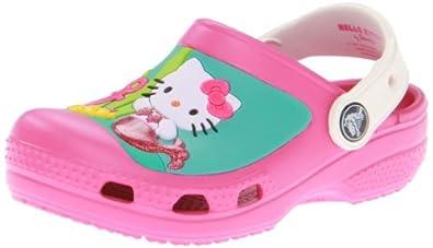 61af75fa0de0 crocs 14024 Hello Kitty Clog (Toddler Little Kid)