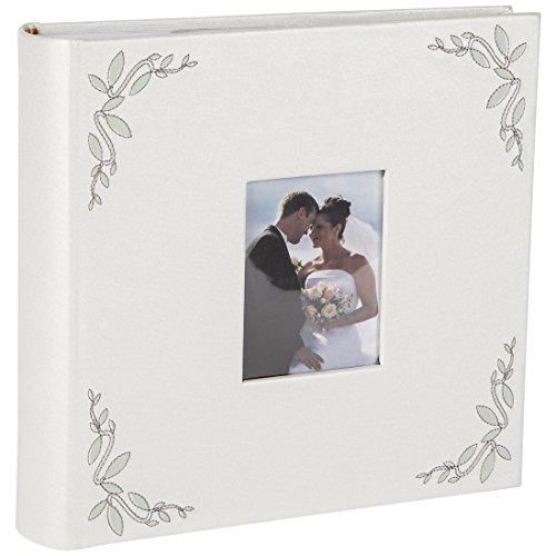 Hochzeits- Pärchen-Fotoalbum mit Folien-Einschubtaschen für 200 Fotos