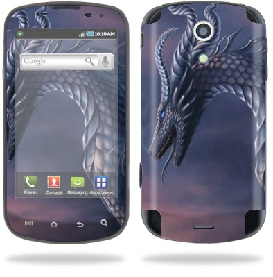 Protective Vinyl Skin Decal for Samsung Epic 4G Sprint Dragon Fantasy
