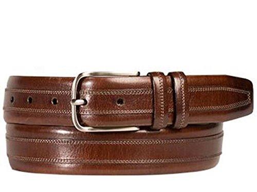 Mezlan Mens Ao10244 Belt , Brown, 44 Medium (AO10244)