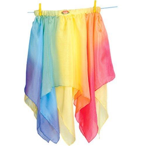 Silk Fairy Skirt (Yellow/Rainbow)