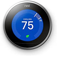 Nest Third Generation Learning Thermostat (T3007ES) + $50 Visa Prepaid Card