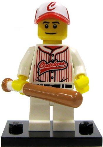 LEGO-Minifigure-Collection-Series-3-LOOSE-Mini-Figure-Baseball-Player