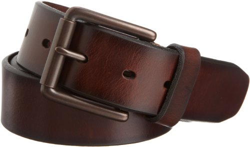 Dockers Men's Bridle Belt, Brown, 38 (Solid Leather Belt compare prices)
