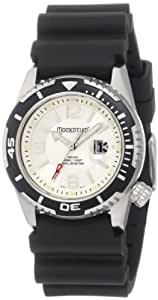 Momentum Women's 1M-DV51S1 M50 DSS Silver Dial Black Rubber Dive Watch