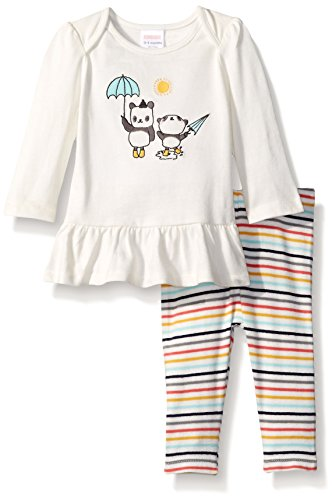 Gymboree Baby Panda Graphic Tee And Stripe Legging Set, Multi, 18-24 Months