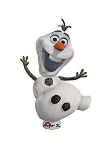 """Olaf the Snowman Disney Frozen 41"""" Balloon Birthday Party Decoration by Anagram"""