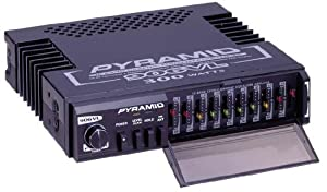 Pyramid 906VL 10 Band Power Booster Graphic Equalizer Amplifier