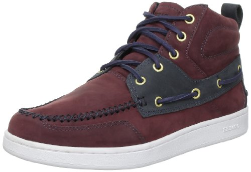 Sebago Men's Wentworth Chukka Trainers Black Cherry/Navy 9.5 UK, 43.5 EU