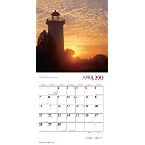 Great Lakes Lighthouses 2013 Square 12X12 Wall