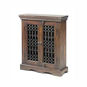 Cheap  Jali Sheesham DVD Cabinet
