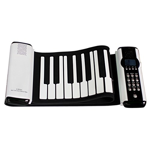 Joygo Soft Silicone Electronic Midi 61 Keys Flexible Roll Up Keyboard Piano Portable Keyboards Musical Instrument