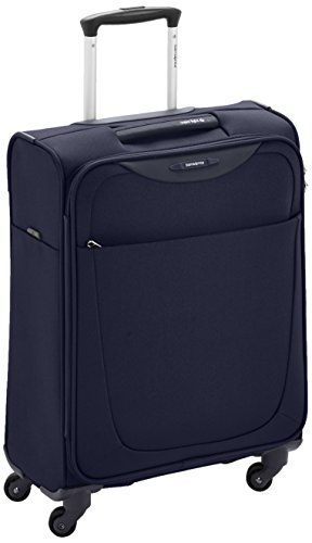 samsonite valise cabine souple base hits 55 cm blue avis boutique. Black Bedroom Furniture Sets. Home Design Ideas