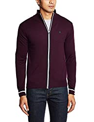 Lee Men's Synthetic Sweater (8907222304843_LESW1751_X-Large_Wine)