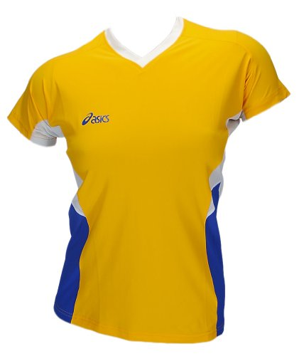Asics Indoor Sports Pallavolo Pallamano Sportshirt Trikot Offence Slee Top Donna 0301 Art. 648203 Taglia L