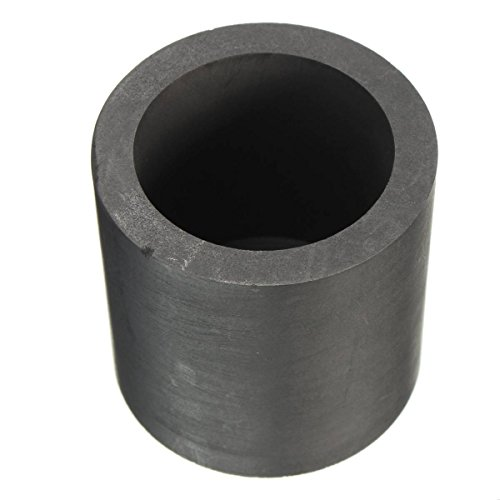 Drillpro 40mm x 40mm Graphite Crucible Melt Gold Silver Platinum Scrap Metals Mold For Silver Gold Melting Casting (Platinum Crucible compare prices)