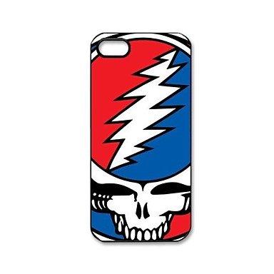 Grateful Dead Pattern Plastic Hard Case for iPhone 5/5S