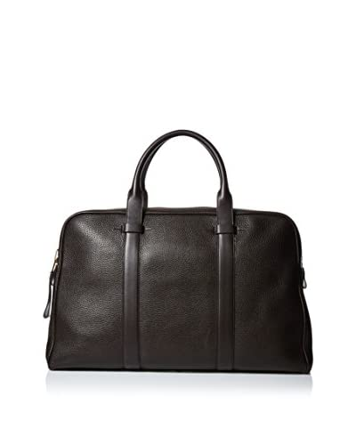 Tom Ford Men's Leather Weekender, Dark Brown