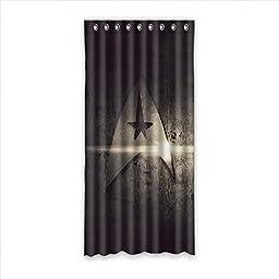 HS@AK Custom Star trek Fabric Room Window Curtains 52\