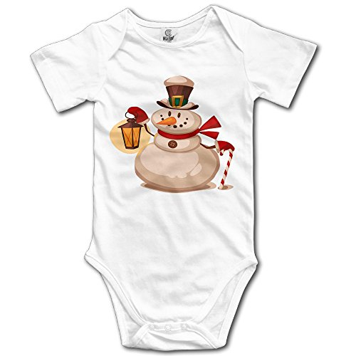 Snowman Baby Boys' Cotton Baby Outfits Romper Dresses (Boys Rubber Ducky Costume)