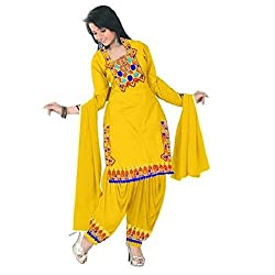 Harsiddhi creation Cotton Women Salwar Suit Sets