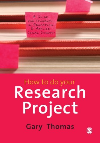 How to do Your Research Project: A Guide for Students in...