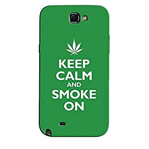 SMOKE ON BACK COVERFOR SAMSUNG GALAXY NOTE 2