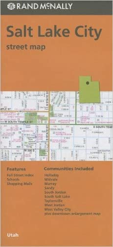 Rand McNally Folded Map: Salt Lake City