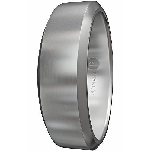 8MM Titanium Ring - Wedding Band & Promise Ring for Men and Women - Comfort Fit - Hypoallergenic (Custom Titanium Rings compare prices)