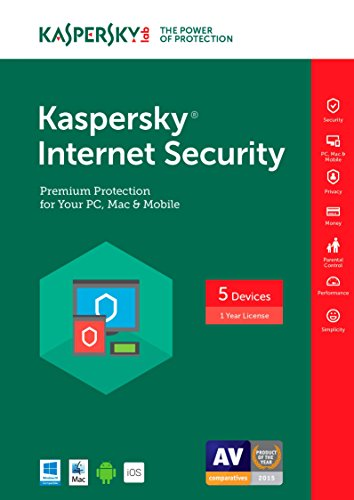 Kaspersky Internet Security 2017 | 5 Device | 1 Year | Download