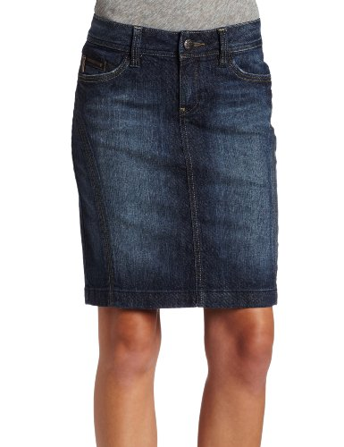Esprit Women's Denim Pencil Skirt