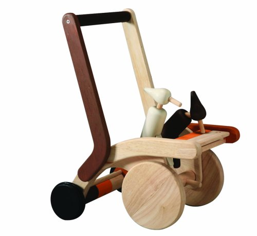 Woodpecker Baby Walker - Plan Toys