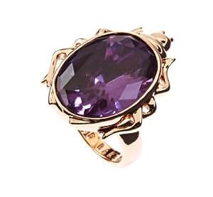 Ted Baker Elina - Gem Beetle Ring in Rose Gold/ Amethyst - Size M