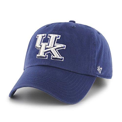 Ncaa Kentucky Wildcats Men'S Clean Up Cap, Royal 1, One Size front-986673