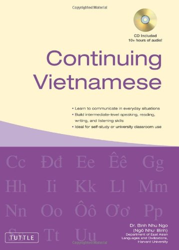 Continuing Vietnamese: (Audio CD-ROM Included)