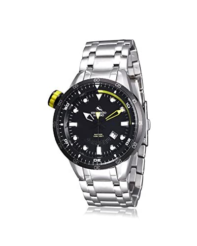Strumento Marino Men's Black/Yellow SM108MB/SS/NR/GL Watch