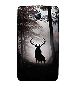 printtech Nature Animated Animal Deer Back Case Cover for Samsung Galaxy A8::Samsung Galaxy A8 A800F