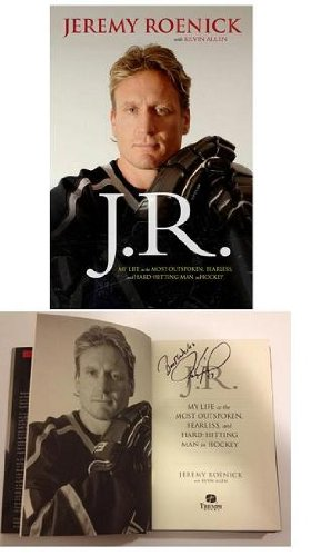 Jeremy Roenick Autographed Book J.r.: My Life