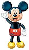 Anagram International Mickey Mouse Air Walker Multi-Color
