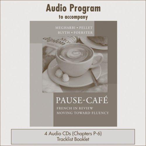 Audio CDs  to accompany Pause-café