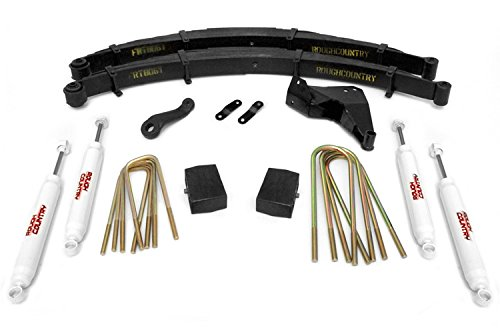 Rough Country - 496.20 - 6-inch Suspension Lift Kit w/ Premium N2.0 Shocks (Ford 6 Lift Kit compare prices)